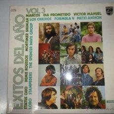 Discos de vinilo: MAGNIFICO LP DE EXITOS DEL AÑO VOLUMEN 3 - FORMULA V -DEMIS ROUSSOS - STATUS QUO - VICTOR MANUEL - E. Lote 42539028