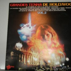 Discos de vinilo: MAGNIFICO LP DE GRANDES TEMAS DE HOLLYWOOD- VOL.2. Lote 42539095