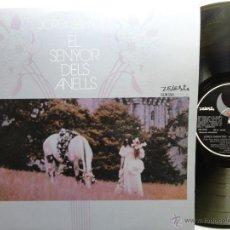 Discos de vinilo: JORDI SABATES- EL SENYOR DELS ANELLS- LP 1974 - EX/EX. REF. 01. Lote 42541919