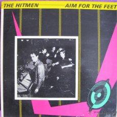 Discos de vinilo: LP - THE HITMEN - AIM FOR THE FEET (ENGLAND, URGENT RECORTDS 1980). Lote 122221430