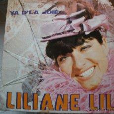 Discos de vinilo: LILIANE LIL. Lote 42544381