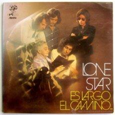Discos de vinilo: LONE STAR, ES LARGO EL CAMINO LP. Lote 42546534