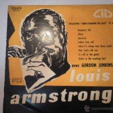 Discos de vinilo: MAGNIFICO LP PEQUEÑO DE LOUIS ARMSTRONG - COLLECTION (CHEFS-D^OEUVRE DU JAZZ Nº 24). Lote 42551820