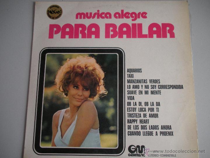 MAGNIFICO LP DE - MUSICA - ALEGRE - ( PARA BAILAR )-OB - LA DI - OB LA DA - TAXI - (Música - Discos - LP Vinilo - Disco y Dance)
