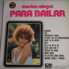 Discos de vinilo: MAGNIFICO LP DE - MUSICA - ALEGRE - ( PARA BAILAR )-OB - LA DI - OB LA DA - TAXI -. Lote 42551831