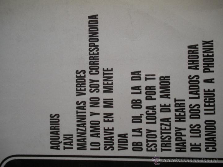 Discos de vinilo: MAGNIFICO LP DE - MUSICA - ALEGRE - ( PARA BAILAR )-OB - LA DI - OB LA DA - TAXI - - Foto 2 - 42551831