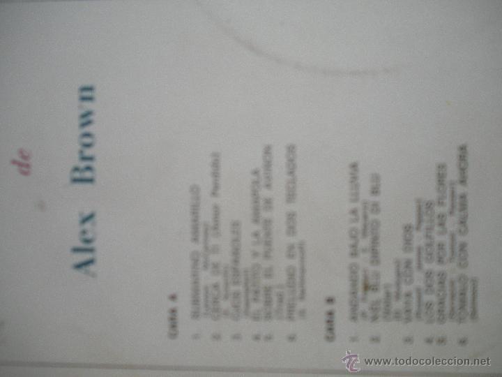 Discos de vinilo: MAGNIFICO LP DE - TASTI - TASTIERE - E MERAVIGLIE - PIANO DI ALEX BROWN - - Foto 2 - 42551844