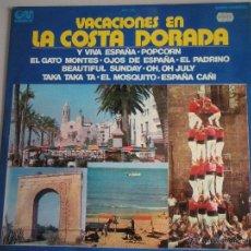 Discos de vinilo: MAGNIFICO LP - VACACIONES EN - LA COSTA DORADA - DEL AÑO 1973 -. Lote 42551914