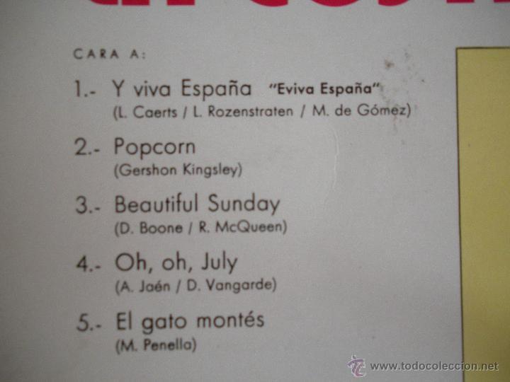 Discos de vinilo: MAGNIFICO LP - VACACIONES EN - LA COSTA DORADA - DEL AÑO 1973 - - Foto 2 - 42551914