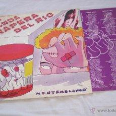 Discos de vinilo: LA BANDA TRAPERA DEL RIO LP MENTEMBLANCO *VINILO INCONTRABLE* MUSICOS ORIGINALES DE LA EPOCA. Lote 42552256