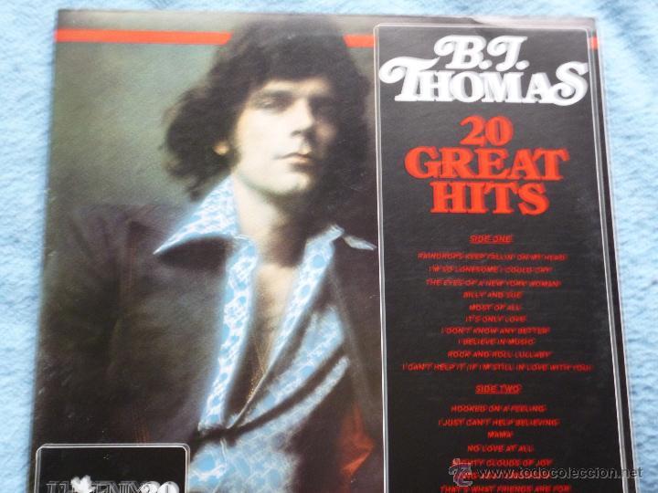 b j thomas,20 great hits edicion española del 83