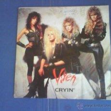 Discos de vinilo: VIXEN CRYIN´. Lote 33825362