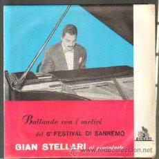 Disques de vinyle: BALLANDO CON I MOTIVI DEL 6º FESTIVAL DI SANREMO. GIAN STELLARI AL PIANOFORTE. DISCO DE 10 PULGADAS . Lote 42556762