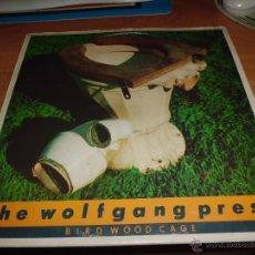 Discos de vinilo: THE WOLFGANG PRESS - BIRD WOOD CAGE MADE IN ENGLAND CARPETA ROCES VINILO MUY BIEN. Lote 42558930