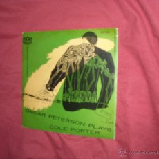 Discos de vinilo: OSCAR PETERSON PLAYS COLE PORTER KEP 202 SWEDEN. Lote 42563203