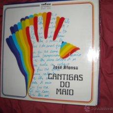 Discos de vinilo: JOSE AFONSO CANTIGAS DO MAIO LP CARPETA DOBLE PORTUGAL VER FOTO ADICIONAL. Lote 42563716