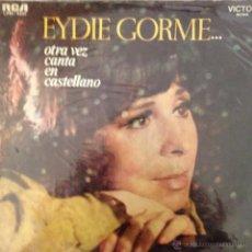 Discos de vinilo: LP DE EYDIE GORME CANTADO EN ESPAÑOL AÑO 1969 EDICIÓN ARGENTINA. Lote 42565310