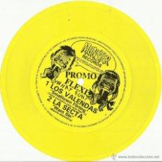 Discos de vinilo: LOS VALENDAS/LA SECTA FLEXI SINGLE PROMOCIONAL.MUNSTER RECORDS. Lote 42565940
