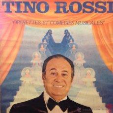 Discos de vinilo: LP DE TINO ROSSI AÑO 1977 EDICIÓN FRANCESA. Lote 42566604