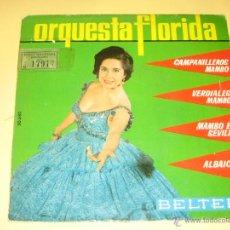 Dischi in vinile: ORQUESTA FLORIDA 1963 . Lote 42570495