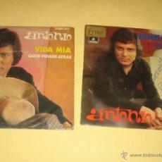 Discos de vinilo: ANTONIO - LOTE DE DOS SINGLES . Lote 42570665