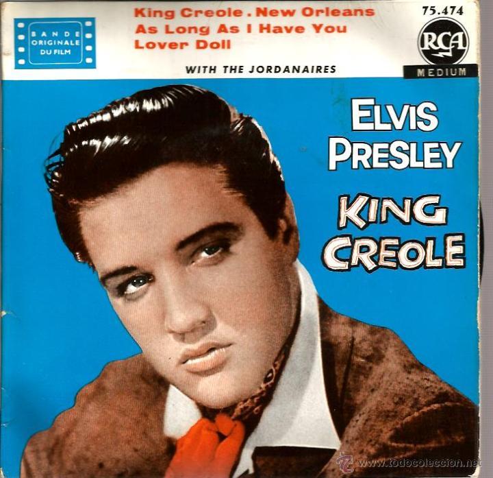 EP ELVIS PRESLEY : KING CREOLE (Música - Discos de Vinilo - EPs - Pop - Rock Internacional de los 50 y 60)