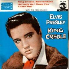 Discos de vinilo: EP ELVIS PRESLEY : KING CREOLE . Lote 42571715