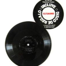 Discos de vinilo: DISCO EN PLÁSTICO FLEXIBLE TITULADO JUICIO HISTÓRICO AL GENERAL FRANCO, EDITADO POR CAMBIO16 -(1985). Lote 42582134