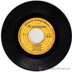 Discos de vinilo: FUNDADOR DISCO SORPRESA LA RATITA,GALLO KIRIKO,CUENTO INFANTIL,1967,ARSENIO CORSELLAS,SIN FUNDA. Lote 42589098