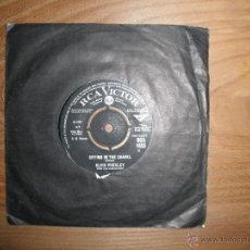 Discos de vinilo: ELVIS PRESLEY. I BELIEVE IN THE MAN IN THE SKY / CRYING IN THE CHAPEL. RCA EDICION INGLESA. Lote 42598493