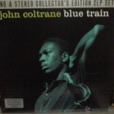 Discos de vinilo: JOHN COLTRANE BLUE TRAIN 2 LP COLLECTOR'S EDITION. Lote 42599783