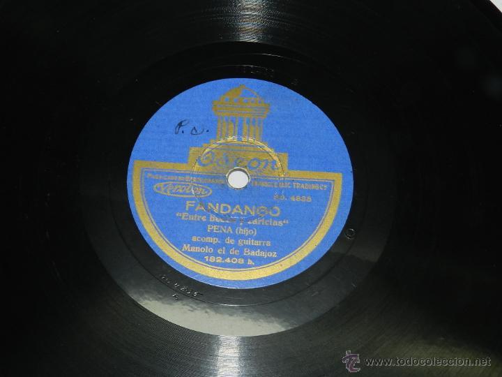 Discos de vinilo: DISCO DE PIZARRA, FANDANGO, FLAMENCO, ENTRE BESOS Y CARICIAS, YO ME DESPIERTO LLORANDO, PENA HIJO AC - Foto 2 - 42607642