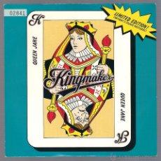 Discos de vinilo: KINGMAKER - QUEEN JANE ( SINGLE VINILO 1993 UK ) BRIT POP. Lote 42621628