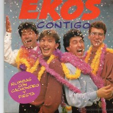Discos de vinilo: EKOS CONTIGO. Lote 42622581