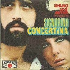 Discos de vinilo: SUKHI AND AVIVA EN ESPAÑOL SINGLE SELLO POPLANDIA AÑO 1973. Lote 42622829