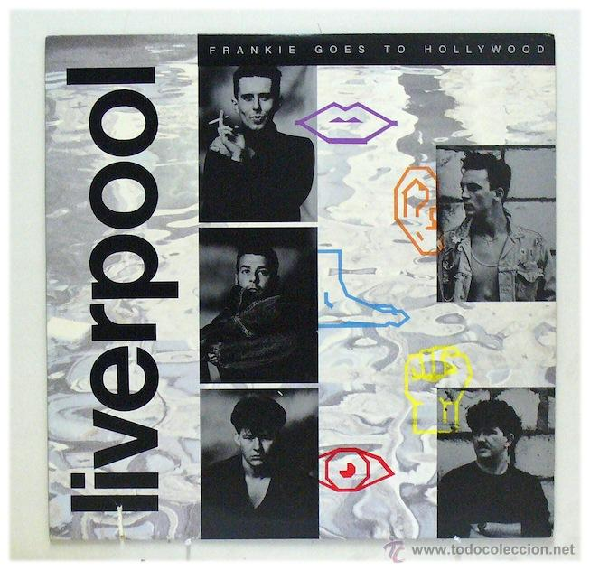 FRANKIE GOES TO HOLLYWOOD - 'LIVERPOOL' (LP VINILO. FUNDA DISCO CON FOTOS) - PEDIDO MÍNIMO 8€ (Música - Discos de Vinilo - EPs - Pop - Rock - New Wave Extranjero de los 80)
