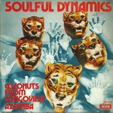 Discos de vinilo: SOULFUL DYNAMICS SINGLE SELLO DECCA AÑO 1972. Lote 42626332