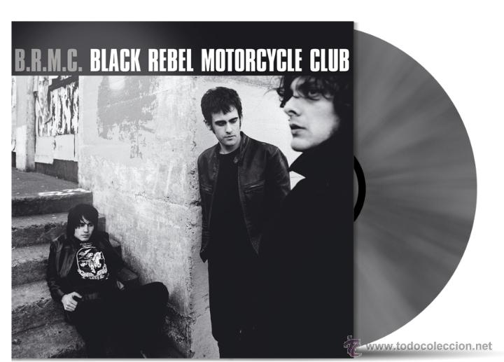 2LP BLACK REBEL MOTORCYCLE CLUB DEBUT +4 EXTRAS EDICION LIMITADA PLATEADA 2000 COPIAS (Música - Discos - LP Vinilo - Pop - Rock Extranjero de los 90 a la actualidad)