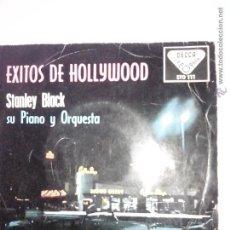 Discos de vinilo: EXITOS DE HOLLYWOOD. STANLEY BLACK, PIANO Y ORQUESTA. QUE HERMOSO ES ELAMOR Y 3+. DECCA STO 111.1959. Lote 42638690