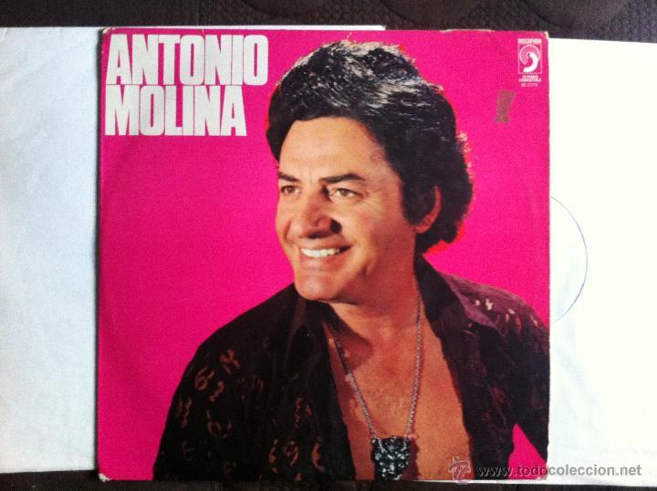 LP - ANTONIO MOLINA - SELLO DISCOPHON EDITADO EN ESPAÑA AÑO 1976 (Música - Discos de Vinilo - Maxi Singles - Flamenco, Canción española y Cuplé)