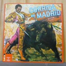 Discos de vinilo: BANDA DE MUSICA DE LA ACADEMIA AUXILIAR MILITAR - CORRIDA EN MADRID - LP COLUMBIA - CS 8155 - 1961. Lote 42643847