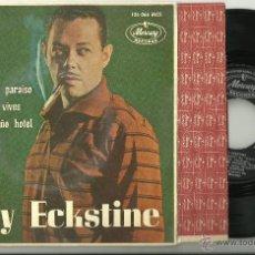 Disques de vinyle: BILLY ECKSTINE ESTA NOCHE (TONIGHT) + 3 RARO EP MERCURY SPAIN 1963 @ NUEVO A ESTRENAR. Lote 42645155