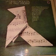 Discos de vinilo: LA GRAN ORQUESTA DE PAUL MAURIAT - L'AVVENTURA - 1972 - PHILIPS - SPAIN - VG/VG. Lote 42645965