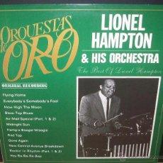 Discos de vinilo: LIONEL HAMPTON & HIS ORCHESTRA - THE BEST OF LIONEL HAMPTON (ESPAÑA-1981). Lote 42649353