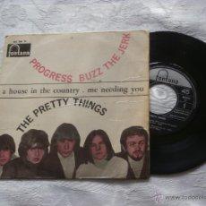 Discos de vinilo: THE PRETTY THINGS 7´EP PROGRESS BUZZ THE JERK (1967) 4 TEMAS EDI.ESPAÑA *SUPER-RAREZA-MUY BUSCADO. Lote 42651779