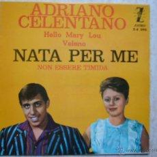 Discos de vinilo: ADRIANO CELENTANO - NATA PER ME +3. Lote 42652036