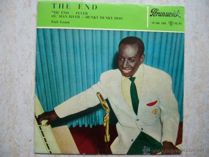 EARL GRANT - THE END +3 (Música - Discos de Vinilo - EPs - Jazz, Jazz-Rock, Blues y R&B)