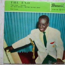 Discos de vinilo: EARL GRANT - THE END +3. Lote 42652093