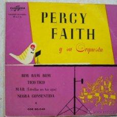 Discos de vinilo: PERCY FAITH Y SU ORQUESTA - BIM BAM BOM +3. Lote 42652165