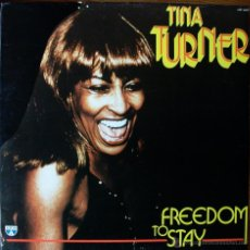 Discos de vinilo: TINA TURNER - FREEDOM TO STAY. Lote 42652347